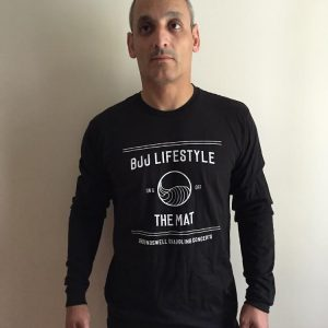 GGC Unisex Long-Sleeved BJJ Lifestyle T-shirt