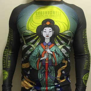 GGC Artists Collection 101- Rashguard by MEERKATSU